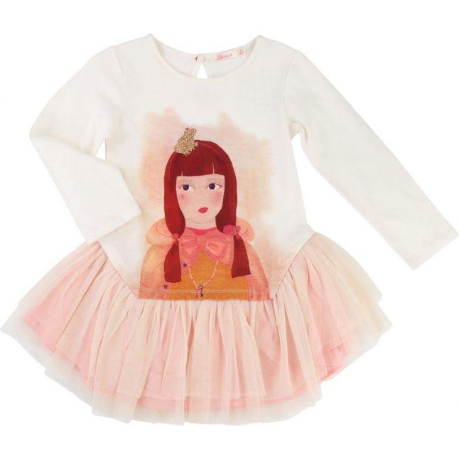 Girls Cream Princess Tutu Dress