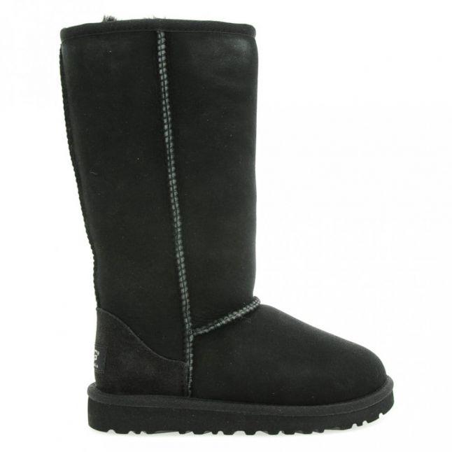 Kids Black Classic Tall Boots (12-3)