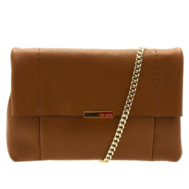 Womens Brown Parson Unlined Soft Leather Cross Body Bag