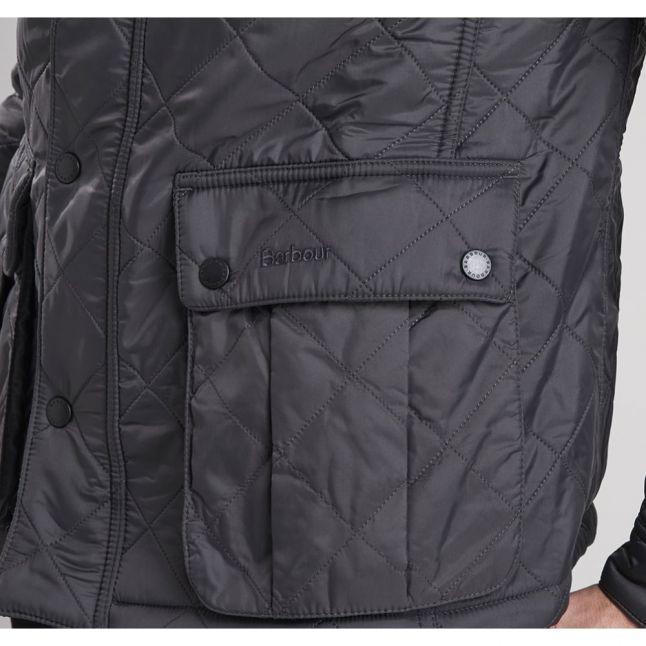 Mens Charcoal Ariel Polarquilt Jacket