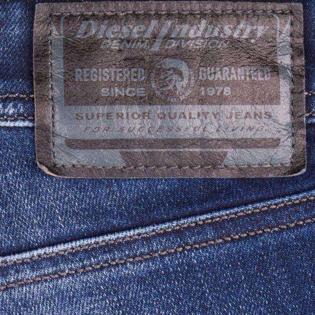 Mens Blue Larkee-Beex Straight Jeans