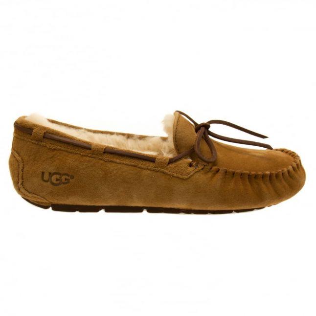 Womens Chestnut Dakota Slippers