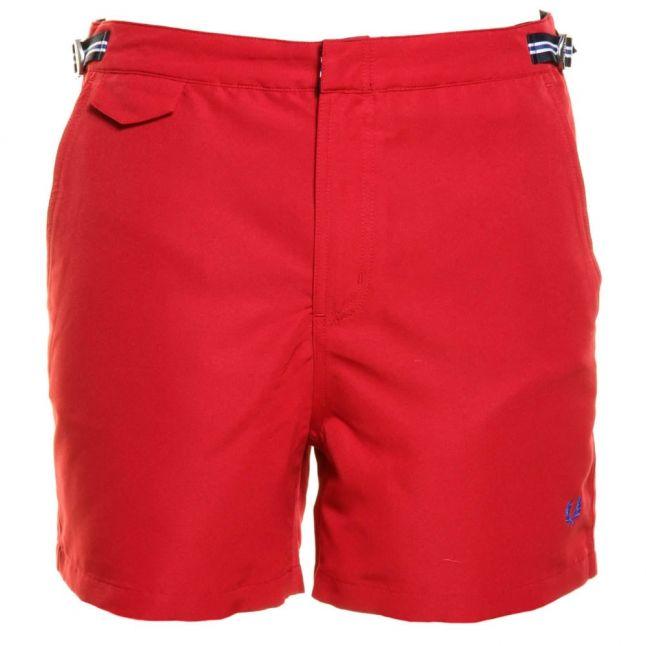 Mens Deep Red Classic Swim Shorts