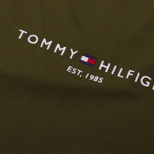 Mens Olivewood Tommy Logo S/s T Shirt