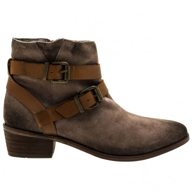 Womens Grey Meeya Boots