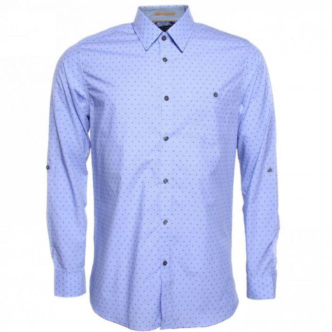 Mens Blue Gudmood L/s Shirt