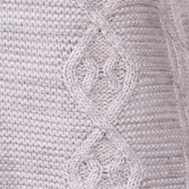 Womens Sandshell Vimysta Knitted Jumper