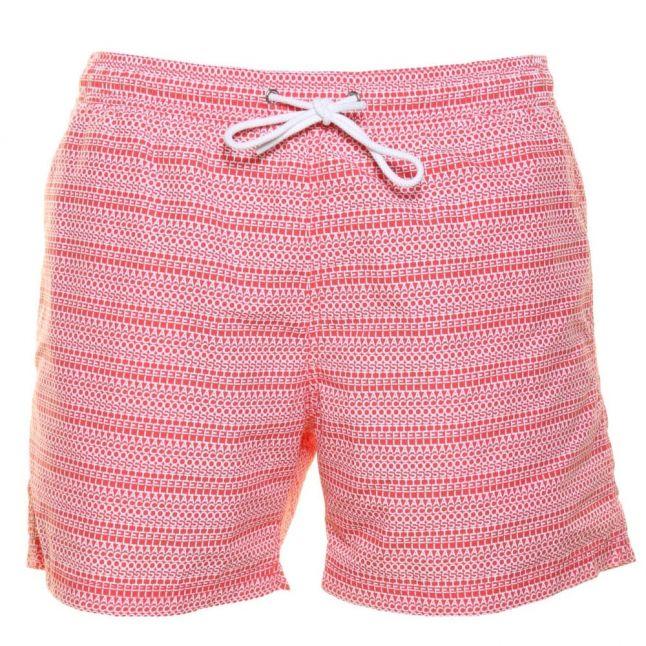 Mens Sandlewood Lettered Swim Shorts
