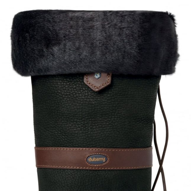 Womens Black Faux Fur Boot Liners