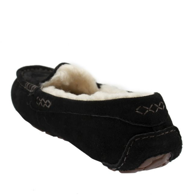 Womens Black Ansley Slippers
