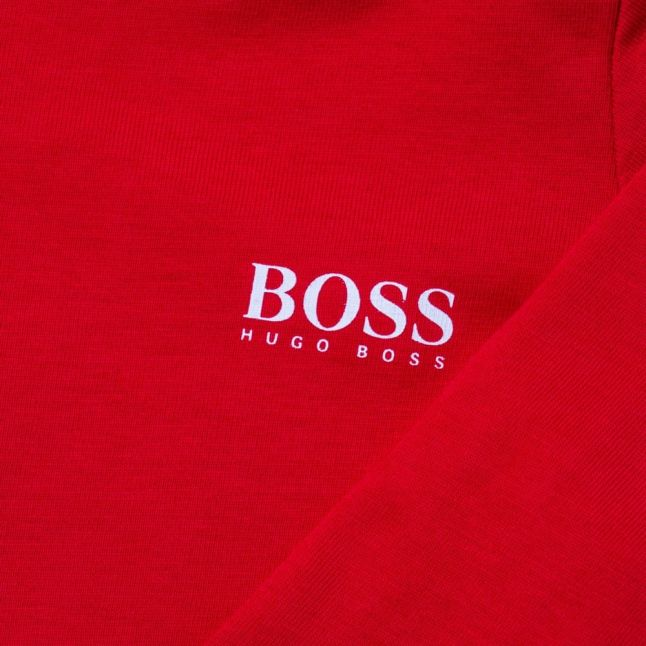 Baby Red Small Logo L/s Tee Shirt