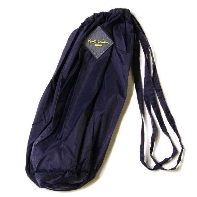 Boys Dark Navy James Zip Hooded Jacket
