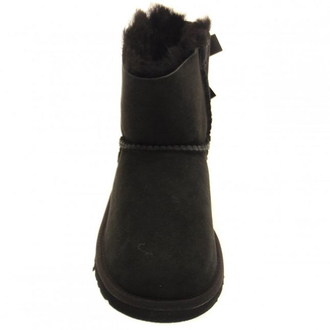 Kids Black Mini Bailey Bow Boots (12-3)