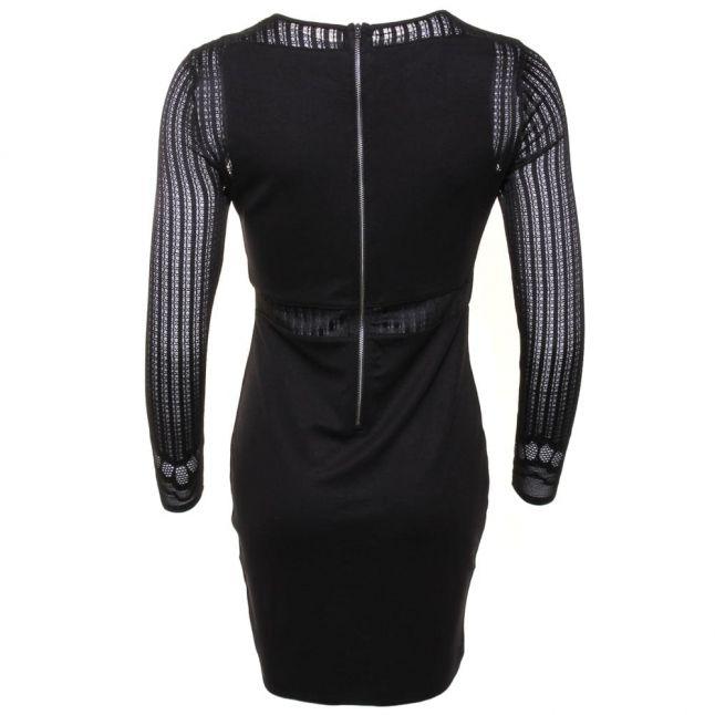 Womens Black Sia Lace Dress