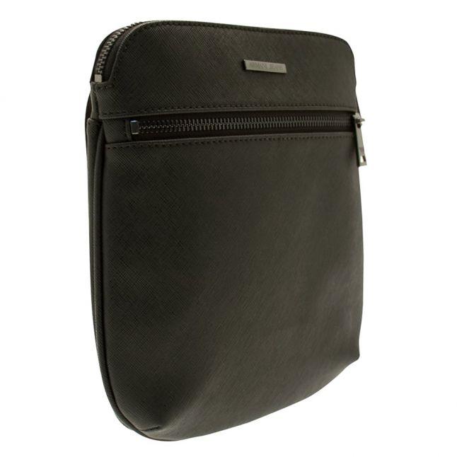 Mens Black Messenger Bag