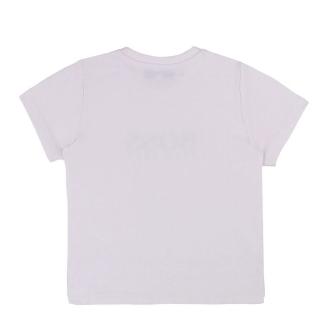 Toddler White Branded S/s T Shirt