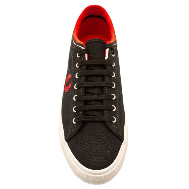 Mens Navy Kendrick Tipped Trainer