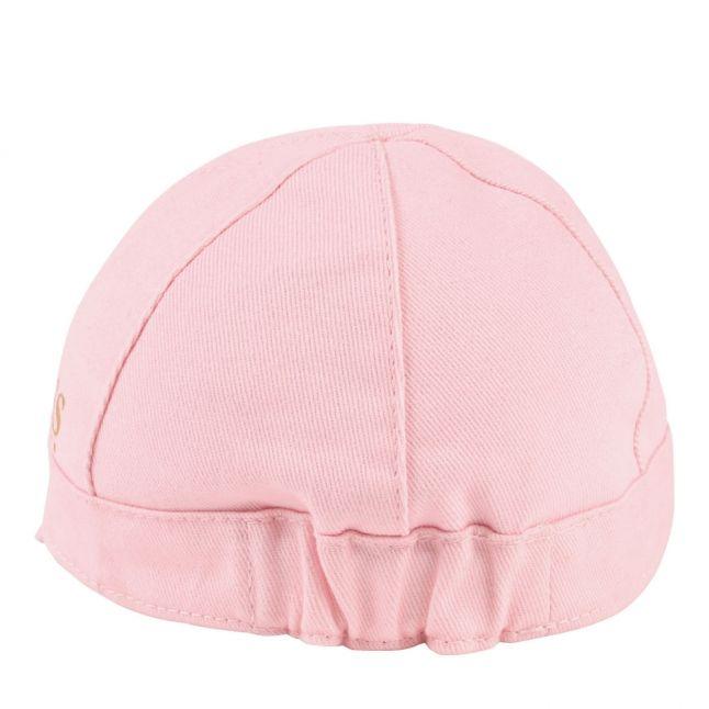 Baby Pink Logo Cotton Twill Cap