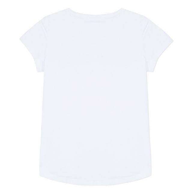 Junior Optic White Logo S/s T Shirt