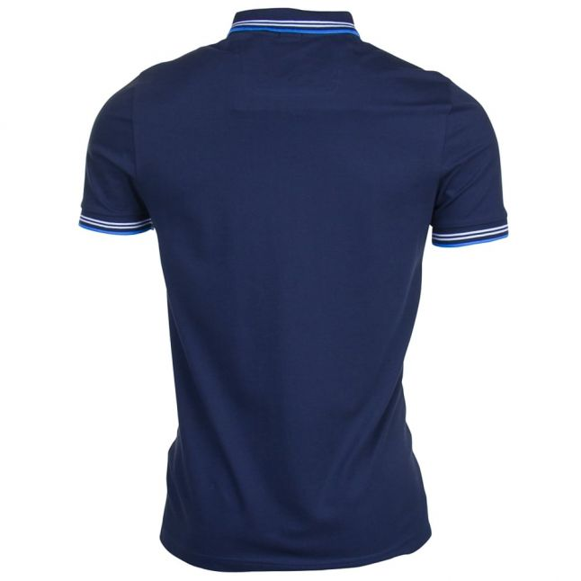 Mens Navy Paul S/s Polo Shirt