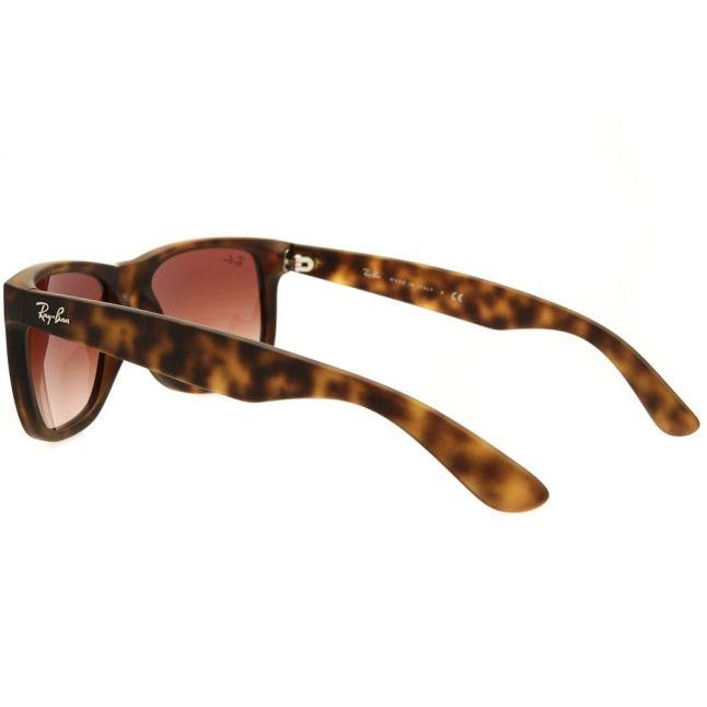 Light Havana RB4165 Justin Rubber Sunglasses