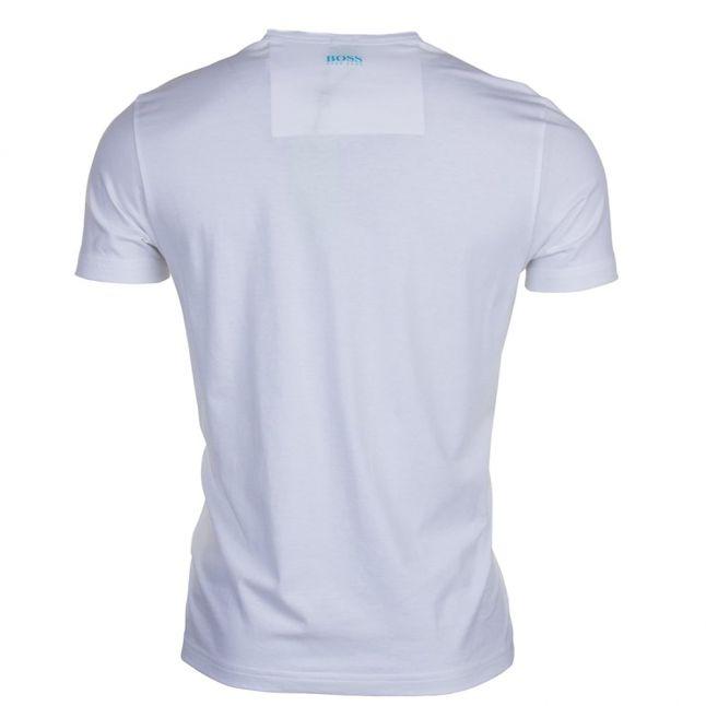 Mens White Tee 3 S/s Tee Shirt