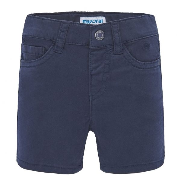 Infant Navy Basic Chino Shorts