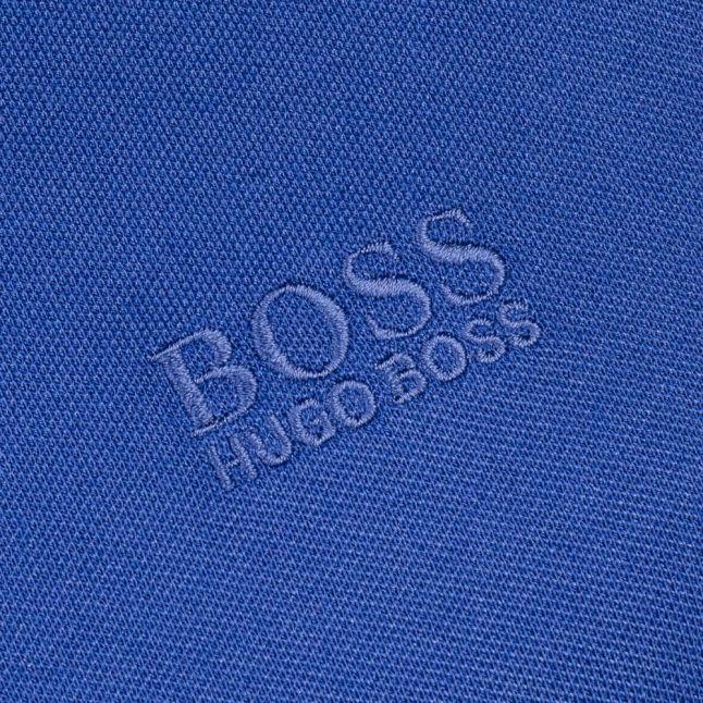 Mens Open Blue Paule S/s Polo Shirt