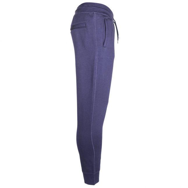 Mens Blue Cuffed Jog Pants