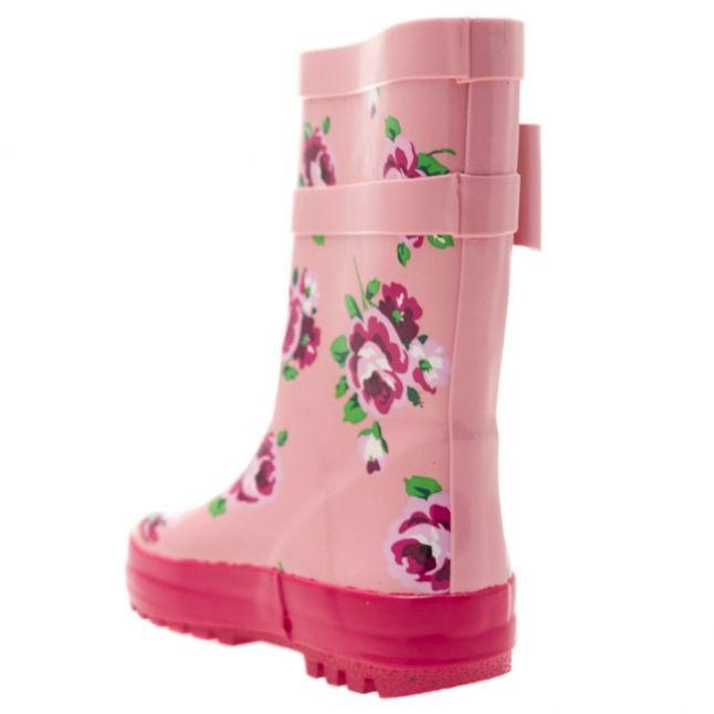 Girls Pink Rain 1 Wellington Boots (24-35)