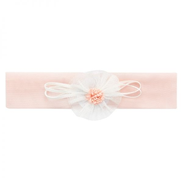 Baby Pink Corsage Headband
