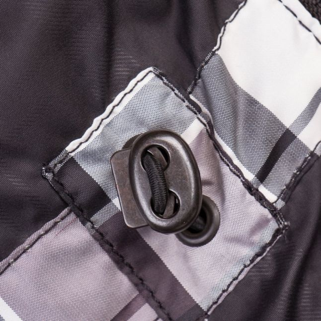 Womens Black Riser Waxed Jacket