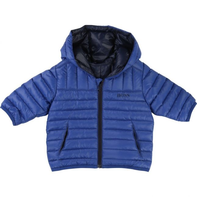 Baby Blue Puffer Jacket