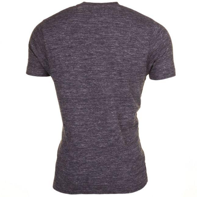 Mens Smoke Melange Small Logo S/s Tee Shirt