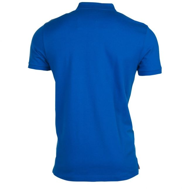 Paul & Shark Mens Blue Shark Fit S/s Polo Shirt