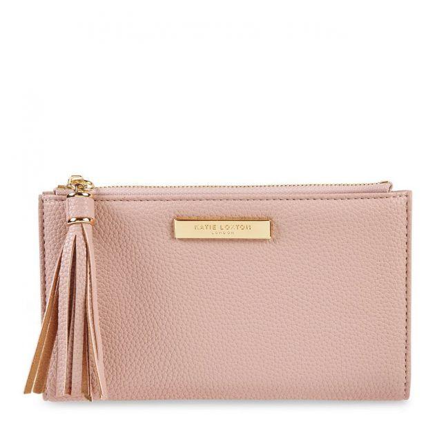 Womens Pale Pink Sophia Tassel Purse