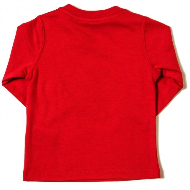 Baby Red Logo L/s Tee Shirt