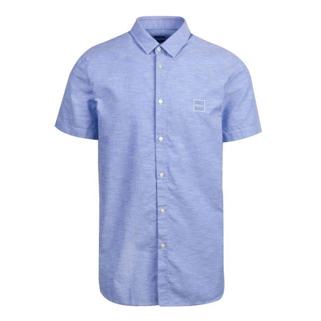 Casual Mens Light Blue Magneton_1 S/s Shirt