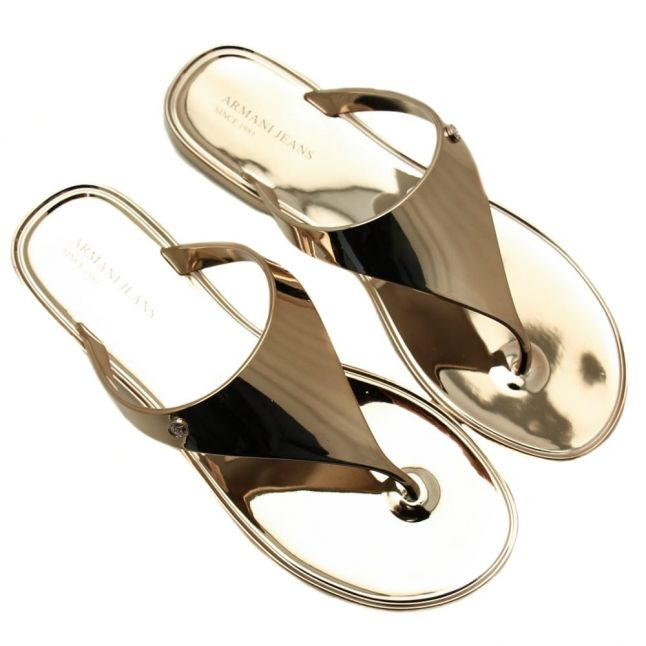 Womens Mirrored Sandals