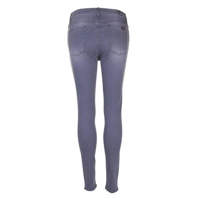 Slim Illusion Lux Dark Grey Womens HW Skinny Crop Jeans