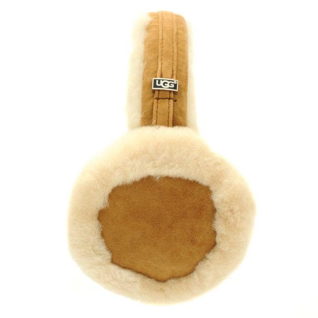 Womens Chestnut Classic Wired Earmuffs
