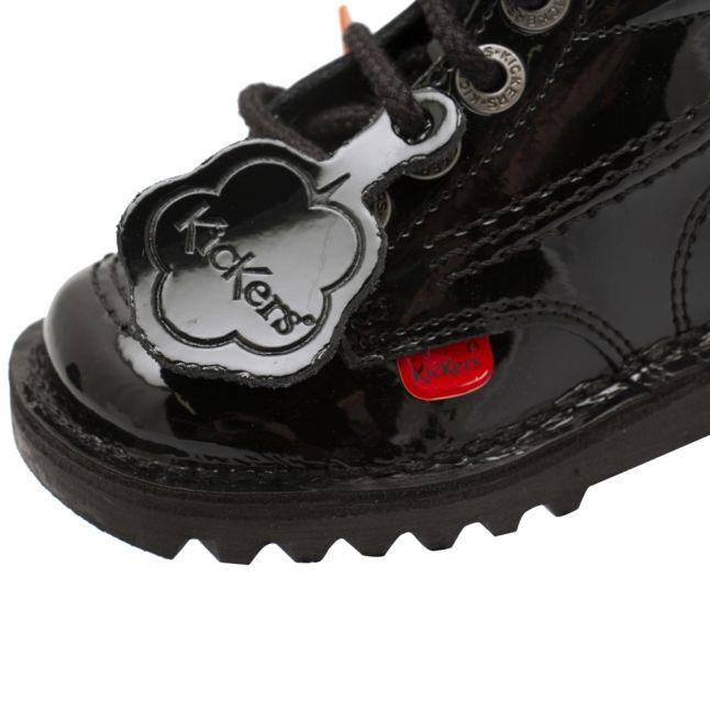 Infant Black Kick Hi Boots (5-12)