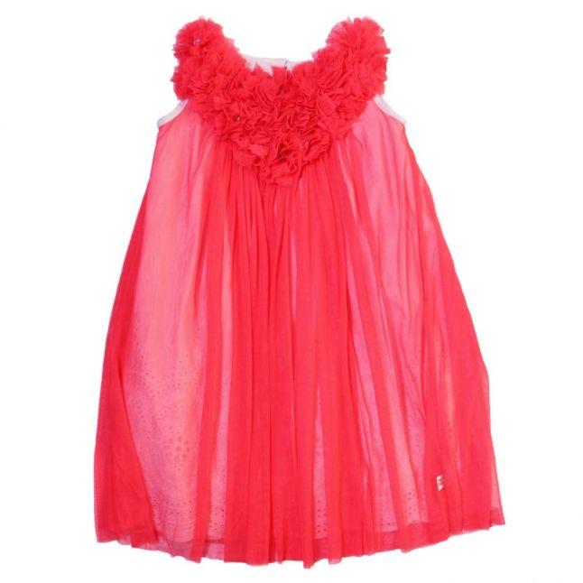 Girls Pink Layered Dress