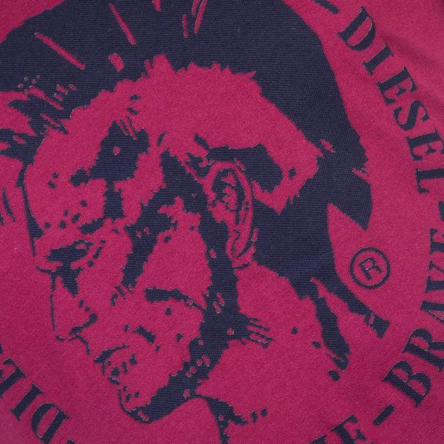 Mens Burgundy T-Diego-Fo Mohawk Tshirt