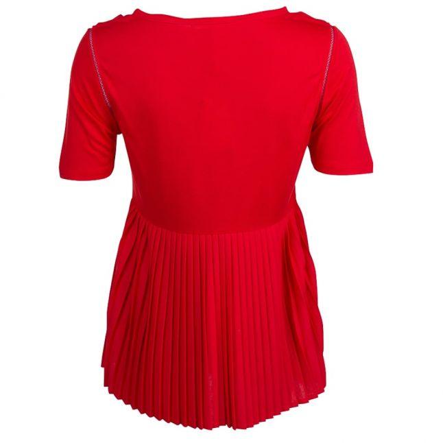 Boss Orange Womens Bright Red Taplisse Tee Shirt