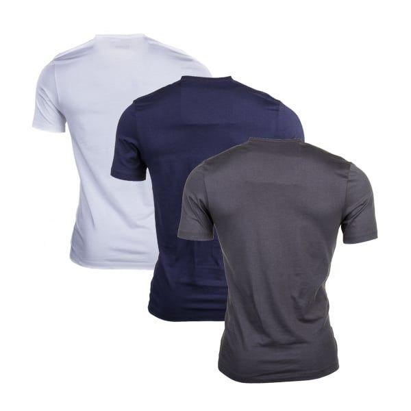 Mens Open Blue 3 Pack Loungewear S/s Tee Shirts