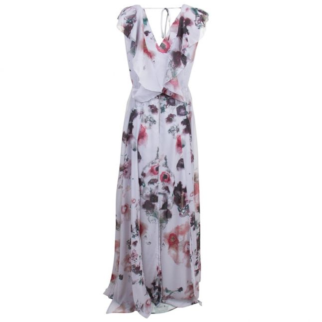 Womens Pale Grey Limit Maxi Dress