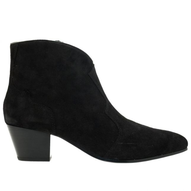 Womens Black Hurrican Ankle Boots