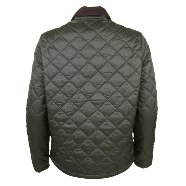 Heritage Womens Sage Summer Cropped Quilted Jacket