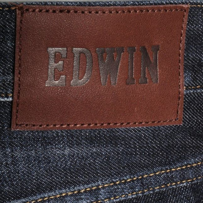 Mens 12oz F8.DB Blue Dawn Used ED-55 Relaxed Tapered Fit Jeans